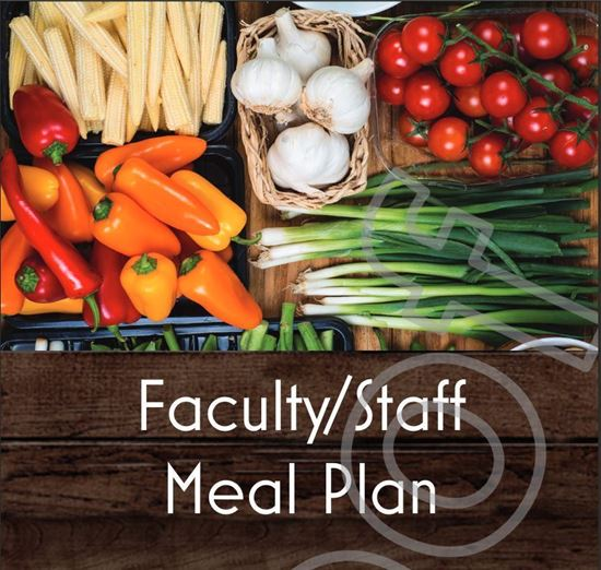 Picture of Faculty/Staff 25 Meal Block